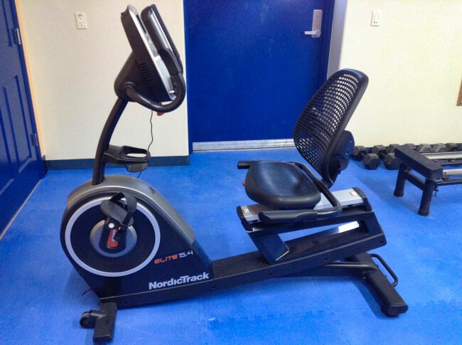 Sundowner RV Park Gym - Recumbent Bike